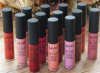 Wholesale 2016 NYX Lip Soft Matte Lip Cream SMLC matte lipstick Vintage Long Lasting NYX Lipgloss Colour Lasting moisturizing