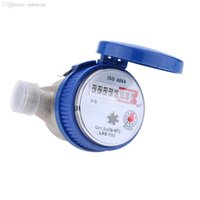 Wholesale Professional Garden Home Water Meter Single Flow Dry Cold Water Table mm With Free Fittings