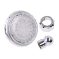 bathtub water filter - LED Shower SDH1 A2T Filter Pressurize Saving Water flow Temperature Sensor Colors Change rotation LED Bathroom Shower Head