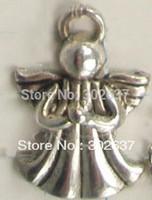 angels lanyard - charm lanyard Tibetan silver praying angel charm A11900 charm lanyard charms candies charm pendants