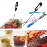 Wholesale Fashion Hot Digital Cooking Food Probe Meat Kitchen BBQ Selectable Thermometer DHL