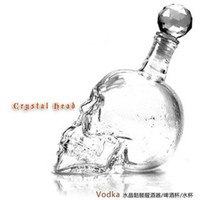 Wholesale Crystal Skull skull vodka bottle ML ML ML
