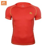 Wholesale newest men and women quick drying short sleeve outdoor sports hiking and camping t shirt coolmax fabric tee