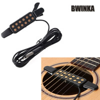 Wholesale 12 Hole Sound Pickup Acoustic Guitar Pickup Acoustic Electric Transducer