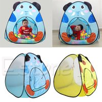 Wholesale pc Foldable Toy Tent Children Kids Baby Ocean Ball Pit Pool Tent Play Toy Tent House Play