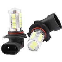 automobile parts - 12V car lights LEDs HB4 LED Fog Lamps Car Vehicle Use Fog Lights Automobile Motorcycles Driving Lighting Parts