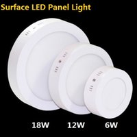 Wholesale Sureface Mount LED Panel W W W Ceiling Lights Bathroom Kitchen Office Store Lighting Light Fixtures LED Lights
