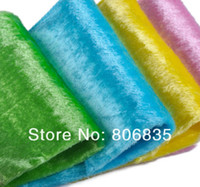 Wholesale non stick oil mercerizing wooden fiber dish towel magic bamboo dish Cloth multi function wipping cleaning rags cloth