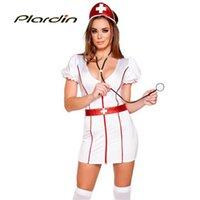 adult doctor costumes - plardin Sexy nurse costume doctor costumes Caretaker Cutie Adult Cosplay Costume LC8929 Halloween Role Play RCostume
