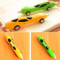 ballpoint pen ink - 10pcs Classic Classic Cars Ballpoint Pens Writing Pens Blue Ink Pen Children s Toys Pen Stationery