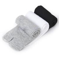 Wholesale Pairs Japanese Kimono Flip Flop Sandal Split Toe Tabi Ninja Geta Socks NEW E9
