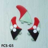 Wholesale New hot sell high quality FCS fins G5 surf fins for surfboard Tri set Fiberglass hongey bomb