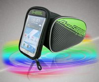 bg case - Riding Bike Frame Front Tube Bag With Waterproof Cover Cycling Pannier Smartphone GPS Touch Screen Case Colors GT BG