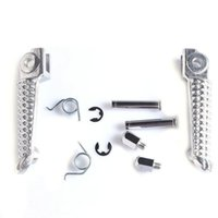Wholesale Motorcycle Front Footrests Foot Pegs For YAMAHA YZF R1 R6 R6S1998 new arrival