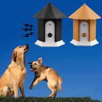 Wholesale Outdoor Ultrasonic High Quality Anti Barking Stop Bark Ultrasonic Pet Dog Repeller Training Device Trainer