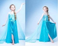 animal costume pattern - New Dresses Pattern Free Girl Dresses Retail Elsa Dresses Elsa Anna Girls Party Princess Dresses Kids Cosplay Clothing Costumes MC0179
