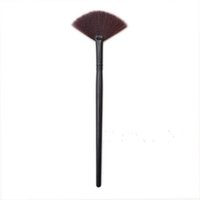 nails for wood - 2016 Fashion Gift Slim Fan Shape Powder Concealor Blending Finish Highlighter Highlight Makeup Brush Nail Art Brush for Makeup