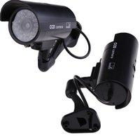 Wholesale Wondeful Outdoor Indoor Fake Surveillance Security Dummy Camera Night CAM LED Light