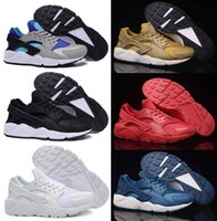 Wholesale 2016 Fashion Air Huarache Running Shoes For Womens Men Cheap Original Quality Hot air Huaraches Women Men Shoes