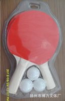 Wholesale Children table tennis racket children take environmental protection in foreign trade