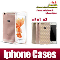 apple overseas - Retail Overseas warehouse iPhone s plus Case Resistance to fall TPU Phone cases without retail package FEDEX