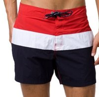 Wholesale 2016 New Arrived Men s beach Tommy Casual shorts Male Fashion Summer Swimming shorts