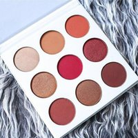 Wholesale 2016 Kylie Jenner Newest Kyshadow Palette Burgundy Eyeshadow Of Your Dreams Makeup Eye Shadow