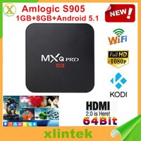 Quad Core Included 1080P (Full-HD) MXQ pro Android TV Box Quad Core Android 5.1 Smart TV Set Top Box Support HDMI USB Android TV Box