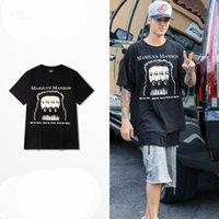 big rock sleeves - Justin Bieber Purpose tour t shirt men women fear of god shirts fog punk rock t shirt hip hop for big man tees tops