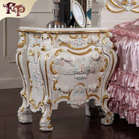 antique nightstands - Filiphs Palladio antique furniture Luxury classic solid wood bed stand Italian classic nightstands