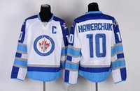 Wholesale Winnipeg jets HAWERCHUK Hockey Jerseys Popular BYFUGLIEN Hockey uniforms Cheap discount LADD SELANNE KANE wear
