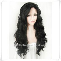 beautiful bank - Beautiful quot quot indian virgin Body Wave hair Natural Black Heat Friendly Synthetic Lace Front Hair Wigs full lace wigs human hair