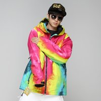 Wholesale New Arrival GRENADE Snowboard Jacket For Men Freestyle Skiing Clothing Snow Wear Waterproof mm Breathable gm