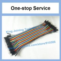 Wholesale 80pin ROW Dupont Cable cm mm pin p p mm jumper wire Male to Male Other Wires Cables amp Cable Assemblies
