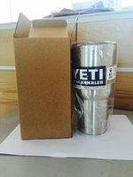 mugs - YETI Bilayer Stainless Steel Insulation Cup OZ Cups Cars Beer Mug Large Capacity Mug vs Push Pop Confetti