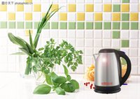 Wholesale Lee Wong electric kettle L large capacity water pot v security functions stainless steel fashion red and black