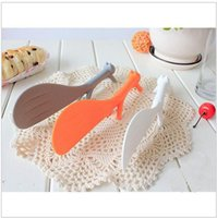 animal bone meal - Vorkin Random Color Lovely Kitchen Supplie Squirrel Shaped Ladle Non Stick Rice Paddle Meal Spoon