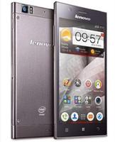 Precio de Lenovo k900-Original de <b>Lenovo K900</b> 5,5 pulgadas de pantalla FHD 2 GB de RAM 16 GB de ROM Intel Atom Z2580 de doble núcleo de 2.0GHz Android 4.2 Smartphone 3G de DHL EL ccsme