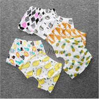 beige color wheel - 27 Color Baby Ins PP Pants Bee Panda Leggings Lemon Fruit Haroun Pants Animal Fox Shorts Tent Wheels Cropped Trousers Harem Pants B392