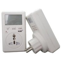 Wholesale V A EU Energy Meter Advanced WATT Power Energy Voltage Meter Monitor with CE amp RoHS Certifications