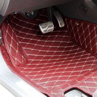 Wholesale Car Floor Mats Car Special Floor Mat Black Beige Wine Red Brown for Mazda