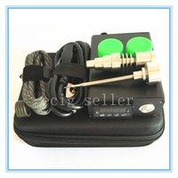 Wholesale Factory direct sale Cheap Smart E nail Kit Kavlar Coil PID TC DNail Dab Titanium Nail Domeless D nail kit E Nail WAX Vaporizer