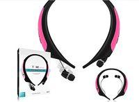 best ear headset - Best quality Premium HBS Wireless Bluetooth Headset Neckband Earphone HBS850 with Retail Package In ear Earphone VS HBS800 HBS900