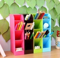 Wholesale Novolty Desk and Drawer Organizers Stationery COntainers Pencil and Pen Holders Container Study Oragnizers Office and School Suppliers