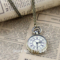 arab fashion designers - Min order Fashion Designer Jewelry Concise Alloy Arab Number Pocket Watch With Chain Pocket amp Fob Watches