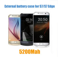 Wholesale External battery case Power bank Backup Charger for Samsung Galaxy S7 S7edge S6 edge plus note S5 note iPhone s plus