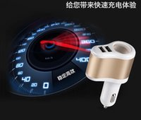 apple ipad interfaces - DHL V A dual USB car charger with cigarette lighter interface for iphone samsung ipad air pro tablet