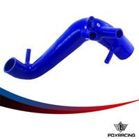Wholesale PQY RACING Silicone Turbo Pipe Radiator Hose for VW Polo T SEAT Ibiza FR MK4 Cupra BLUE PQY SC