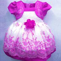 beautiful postage - New Korean girls dress Flowral Lace dress Colors Princess dress stitching gauze dress free postage elegant beautiful dress