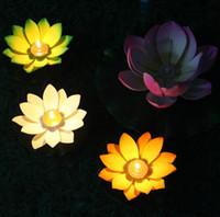Wholesale Candles Wishing Lanterns Kongming Chinese Lotus Flower Floating Lamp Wishing Lamp Party Christmas Decorations